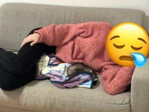 ferret-bond-sleeping