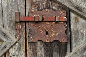 ferret-proofing-lock
